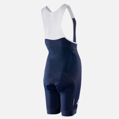 Podia Womens Navy Club Cycling Bib Short Back